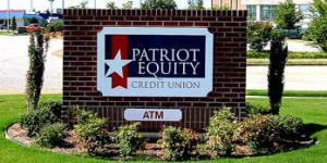 Pylon Sign for credit union